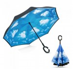 Guarda Chuva Invertido Azul   Rain Away 4 150x150