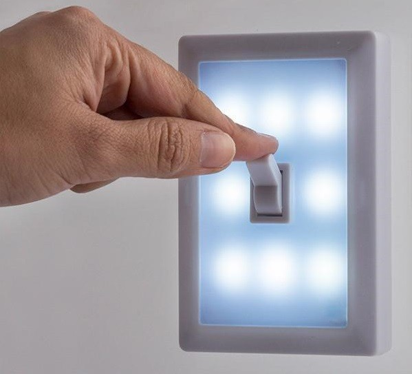 Walled Sw15 Portable Led Light With Switch Omnidomo Grande