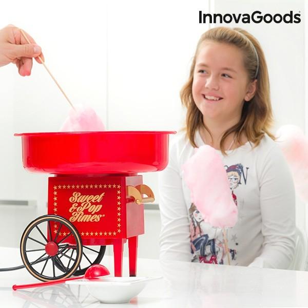 Maquina De Algod O Doce Innovagoods 500w Vermelha
