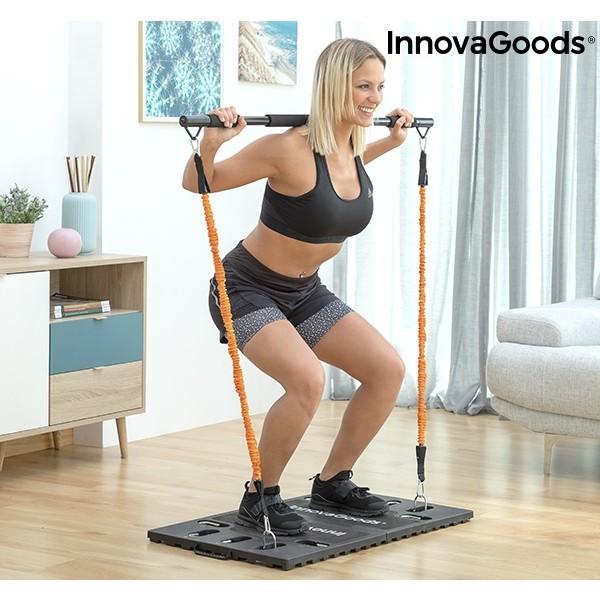 Sistema De Treino Integral Portatil Com Guia De Exercicios Gympak Max Innovagoods 120710
