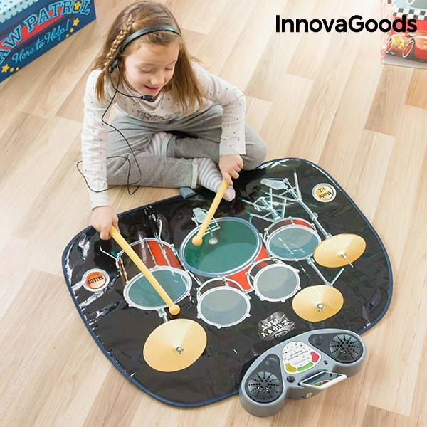 Tapete Bateria Musical Innovagoods