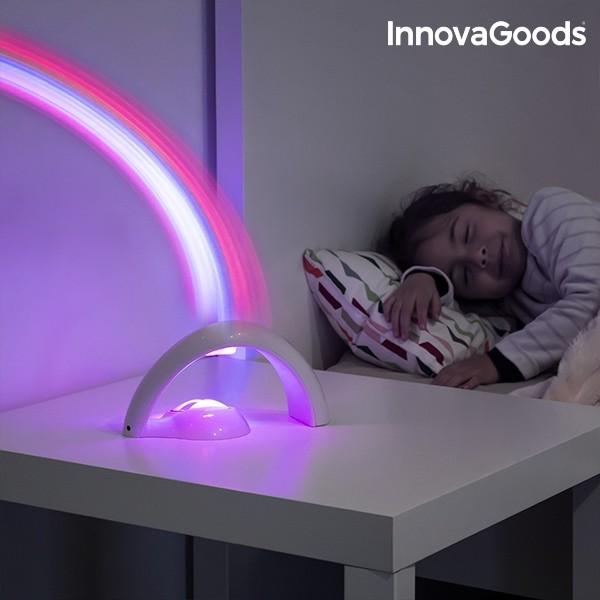 Projetor Led Infantil Arco Iris Innovagoods