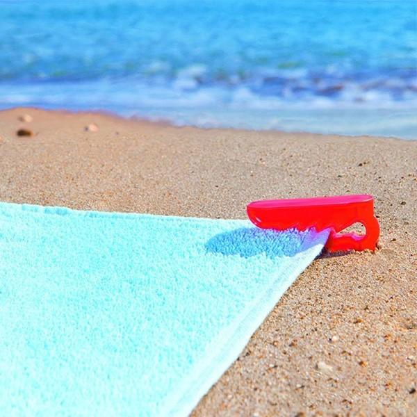Conjunto De Clipes De Toalha De Praia 112308 4 Pcs 104936