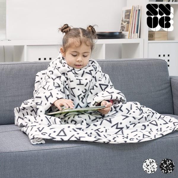 Manta Com Mangas Infantil Symbols Snug Snug One Kids