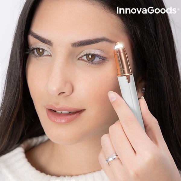 Depiladora De Precis O Com Led Para Pelo Facial Innovagoods1