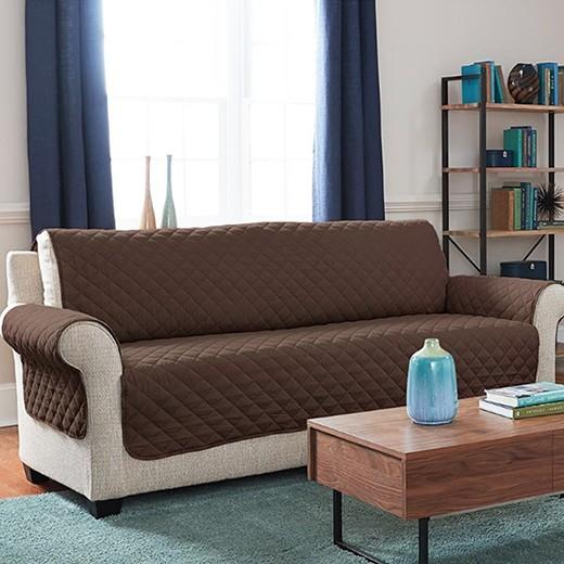 Protetor De Sofa De 3 Lugares Reversivel 02